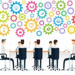Konfigurator: Geschäftsmanner am Meetingstisch