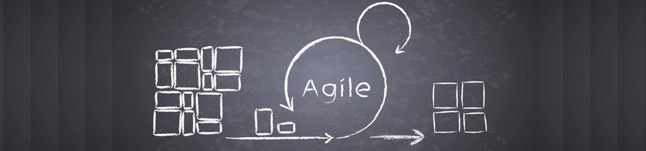 Agilität: Agile Prozesse schematisch