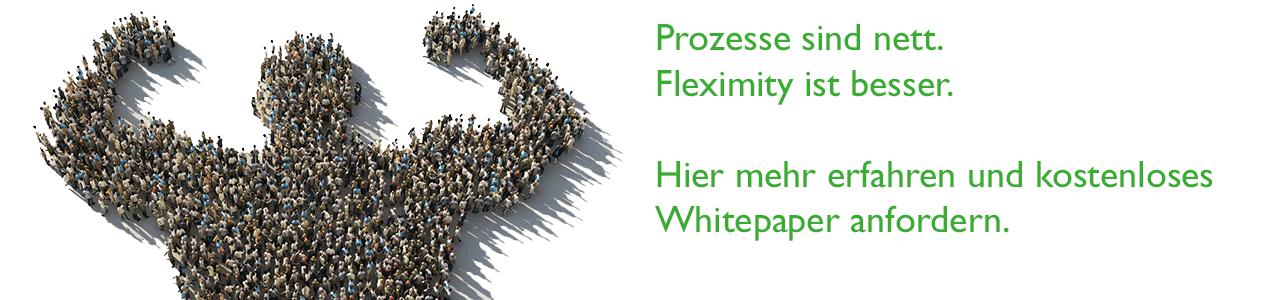 Fleximity: Hier mehr erfahren und kostenloses Whitepaper herunterladen